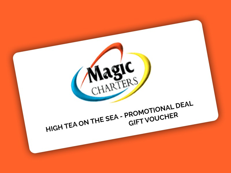 HIGH TEA ON THE SEA -  PROMOTIONAL DEAL